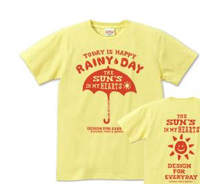 【再販】アンブレラ(傘)〜happy rainy day〜 S〜XL Tシャツ【受注生産品】