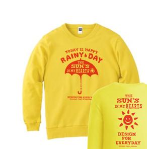 アンブレラ(傘)〜happy rainy day〜  トレーナー【受注生産品】