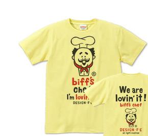 【再販】アメコミ・お髭のコックさん S〜XL Tシャツ【受注生産品】