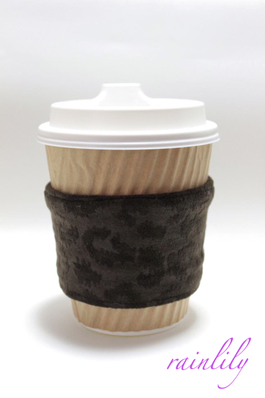 Cup sleeve -leopard-