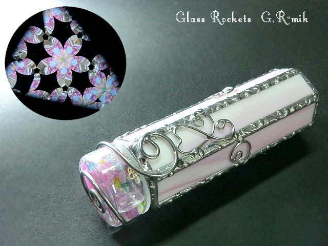 「桜」3ミラーオイルチェンバー万華鏡