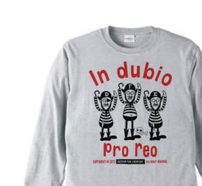 海賊〜in dubio pro reo〜 長袖Tシャツ【受注生産品】