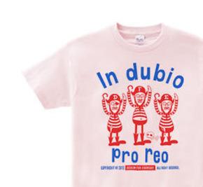 海賊〜in dubio pro reo〜 WS〜WL?S〜XL Tシャツ【受注生産品】