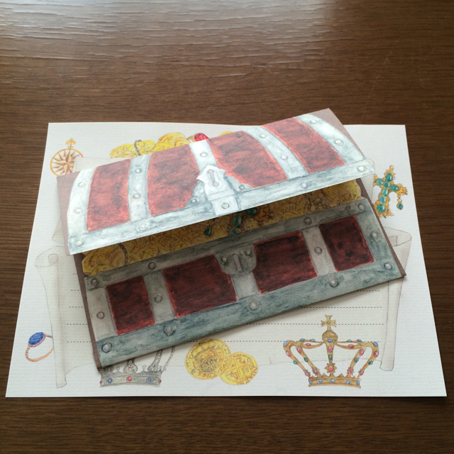 Letter Set Treasure Box(レターセット)