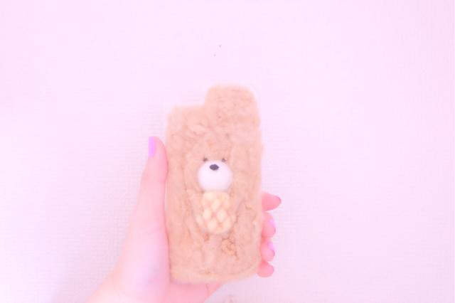 yuu724さんご注文品 もこくまiPhoneケース
