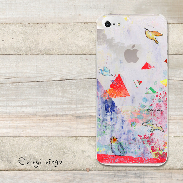 ウタウコトリ*クリア* iPhone case(6)