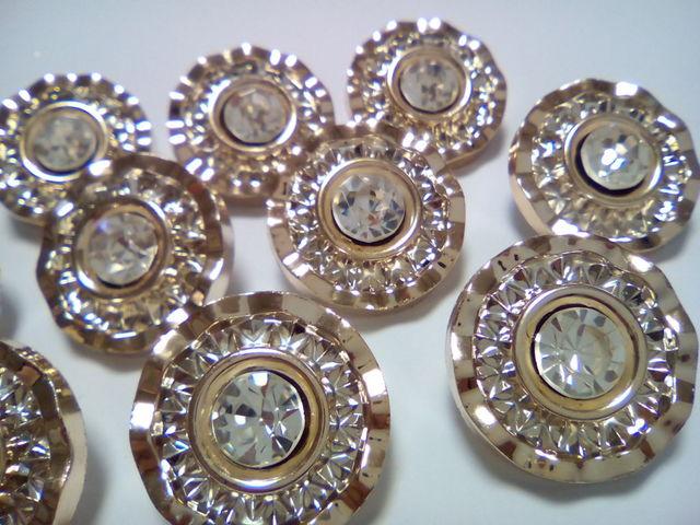 10個 シャンクボタン 足つきボタン ブレザーボタン 21mm D21
