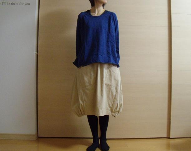 送料無料*ふんわりバルーンスカート(ホワイトチョコレート)