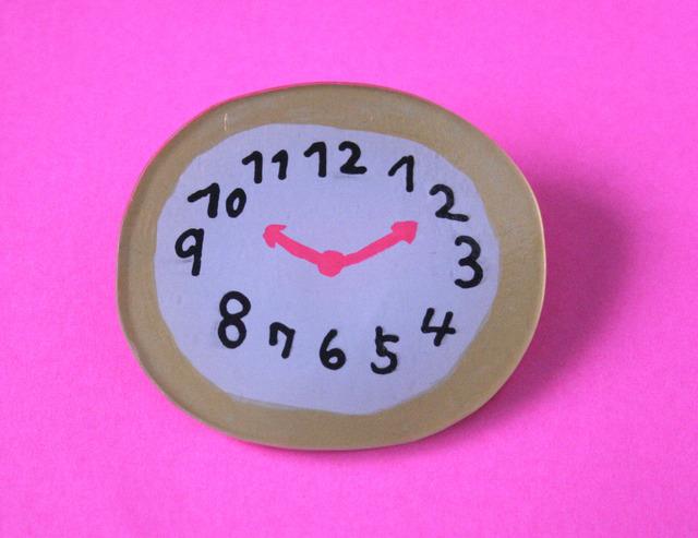 「いつもの時間」時計