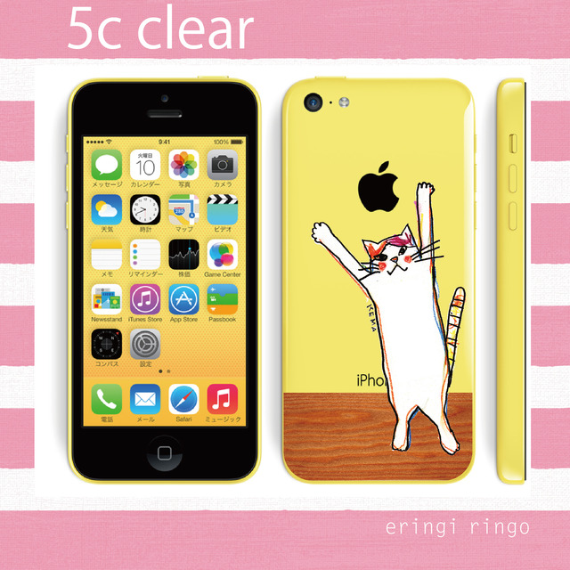 【A様おとり置き】おすねこフローリング?デビュー! iPhone case(5c)