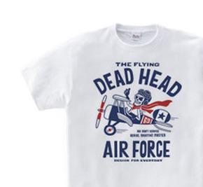 【再販】空飛ぶ骸骨〜THE FLYING DEAD HEAD〜 WS〜WM?S〜XL Tシャツ【受注生産品】