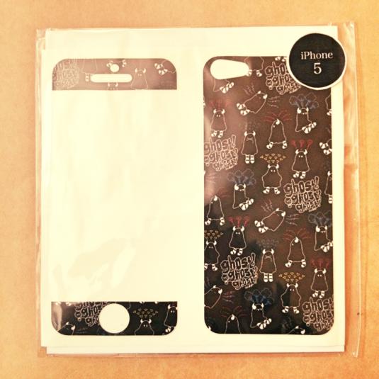 【SALE】おばけちゃんのiPhoneスキンシール