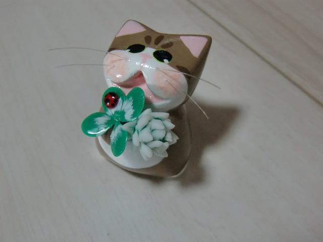送料無料♪ 幸せ運ぶネコ♪