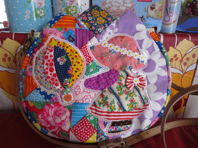 2way☆キラキラのスーちゃんと気球のチューリップバック☆