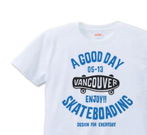 スケートボード S〜XL  Tシャツ【受注生産品】