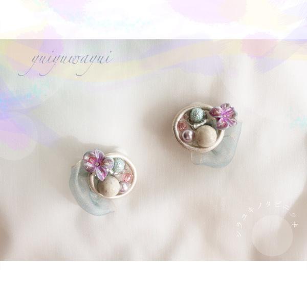 シラユキノタビニッキの耳飾り*(2)