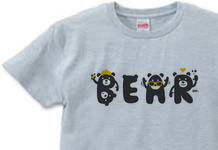 BEARフォント S〜XL  Tシャツ【受注生産品】