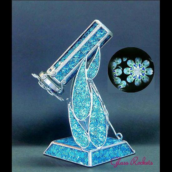 「ポットマム」の万華鏡(再販:オーダー制作)
