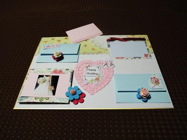 寄せ書き色紙セット、カードのデコレーションにも♪<322>結婚祝い