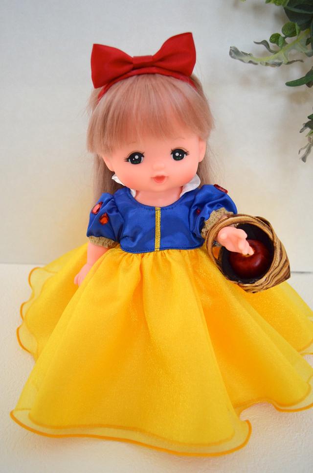 メルちゃん プリンセスドレス 白雪姫