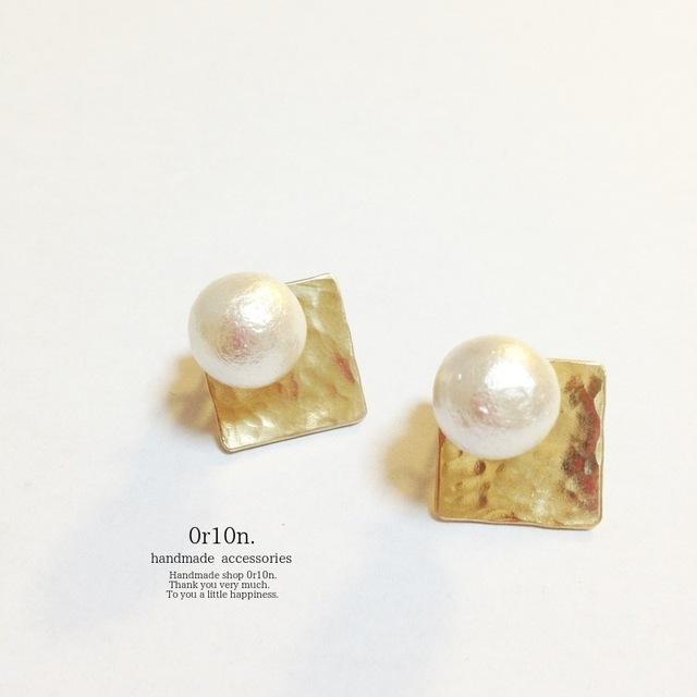 3way brass Pearl pierce.