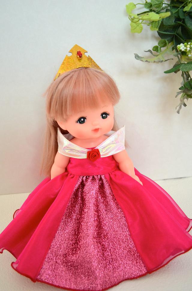 メルちゃん プリンセスドレス オーロラ