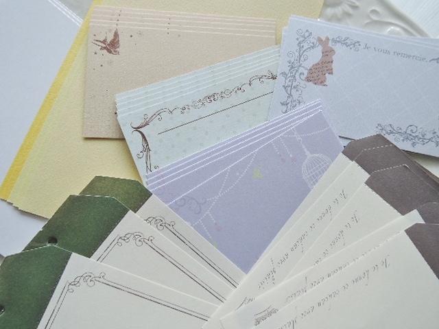 大人気シリーズになりました! My favorite Collection  Part4☆オシャレなカードやヴィンテージメモなど合計40枚入っています(^^)!  (1052)
