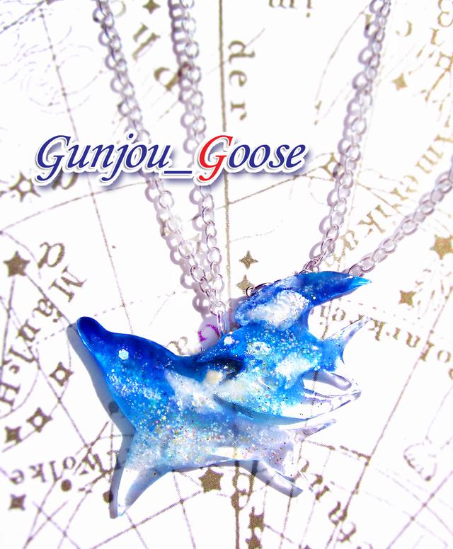 Gullphin!~カモメとイルカの青空ネックレス~