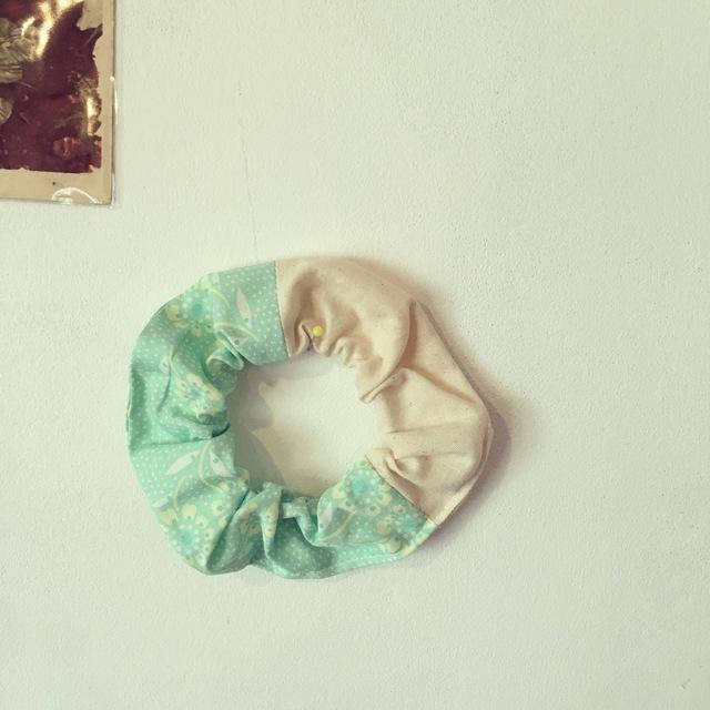 春色パッチワークシュシュ♪(082)