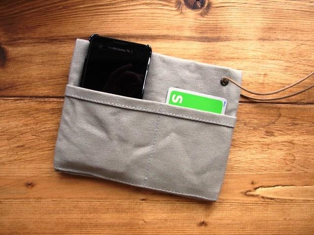 a�ͤ�ͽ���strap pocket�� gray