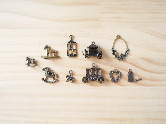 Vintage Charm Romantic Carriage set/ �ӥ�ơ������㡼�ࡢ��ޥ�ƥ��å��ϼ�
