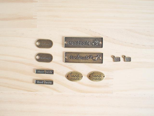 Vintage Charm Handmade message/ ビンテージチャーム、ハンドメイド・メッセージ