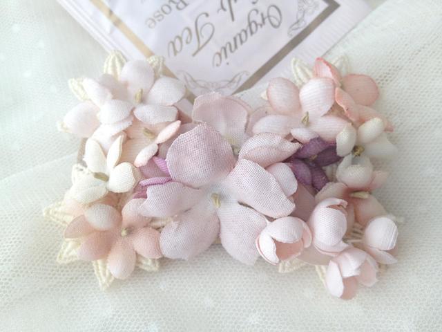 FLOWER RIBBON バレッタ