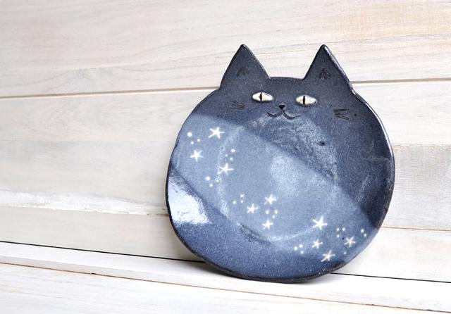 ほし猫の大皿 ラージサイズ