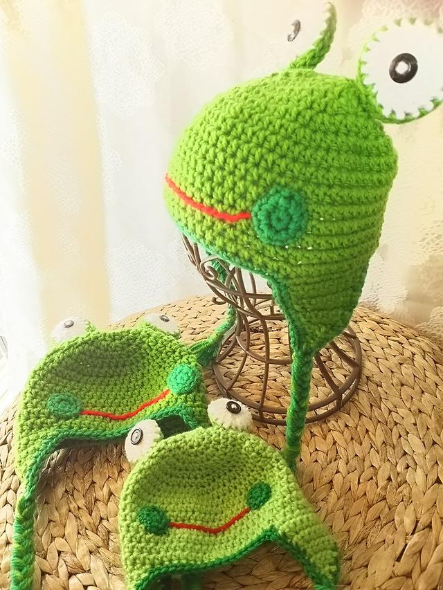 カエル帽 大