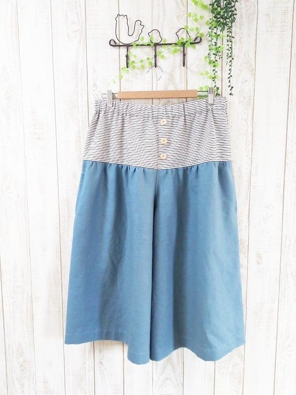 ☆2016春の新作 スカート風ゆったりガウチョパンツ☆