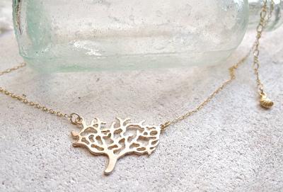 Coral Reef  sea necklace