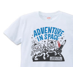 【再販】ビーンズマンのスペースアドベンチャー S〜XL  Tシャツ【受注生産品】