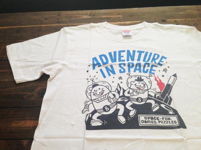 【4/30までSALE!2300円→1100円】【即納品】ビーンズマンのスペース Tシャツ M