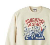 【再販】ビーンズマンのスペースアドベンチャー トレーナー【受注生産品】
