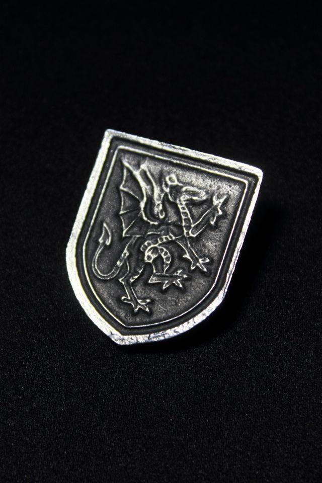 ピューターブローチ(ドラゴン)