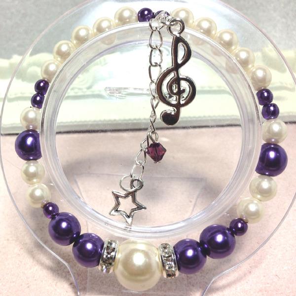 音楽の国☆紫王子 満月に歌うブレスレ...