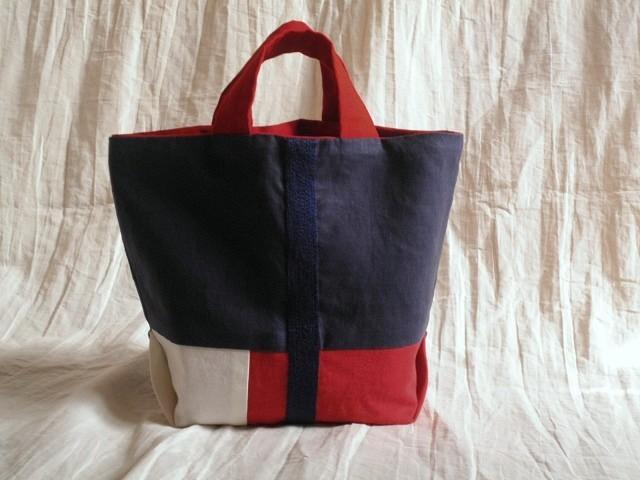 itoiro bag ( tricolore )