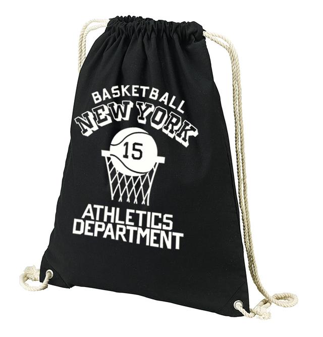 バスケットボール☆NEW YORK ナップサック 【受注生産品】