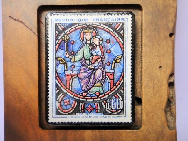 フランス 美術切手ミニスタンド 869