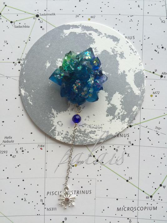 星ノ石*惑星の欠片ブローチ 2