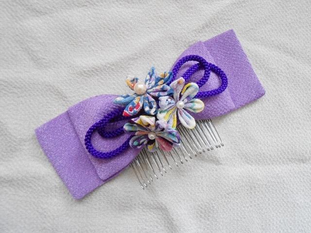 すべての折り紙 折り紙 メガネ : 送料無料*つまみ細工髪飾り ...