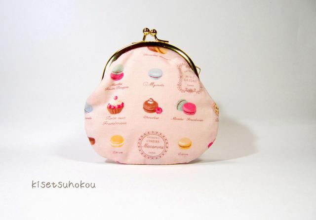 小さながま口ポーチ sweet catalog P-8