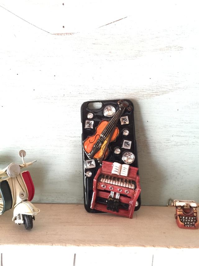 iPhone6専用ハードケース 「奏でる」