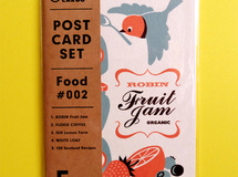 POST CARD SET / Food #002